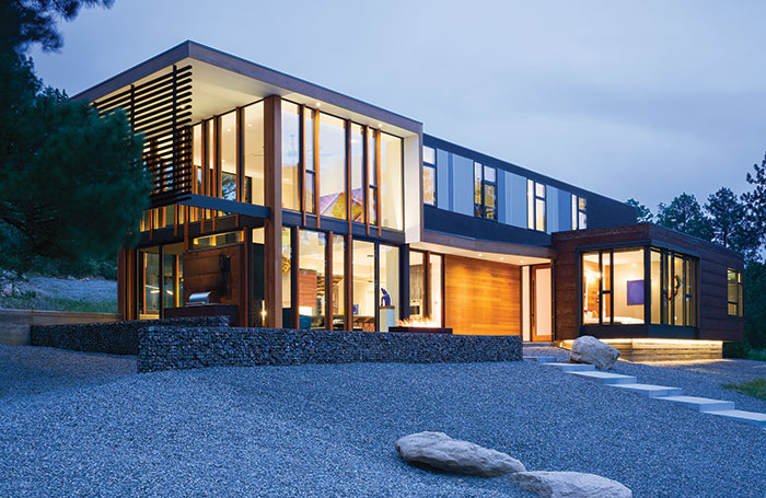 Front Exterior2c A Jewel Box Home In Colorado2c Arch11 Architecture2c Mountain Living Magazine
