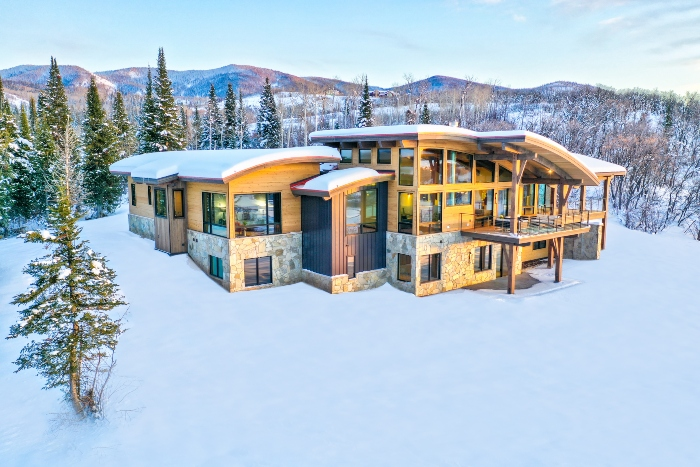 Lot 18 34815 Panorama Dr Steamboat Springs Co 80487 December 20 2019 Sunset Drone Aerial 6 (1)