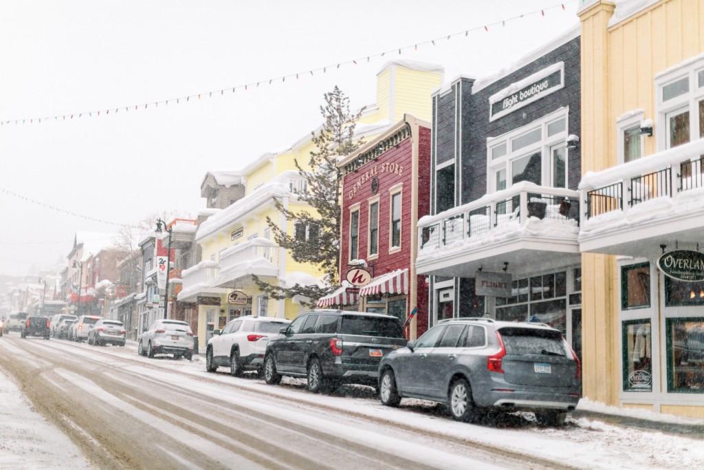 Cb Snowy Main Street Park City Chamber.bureau