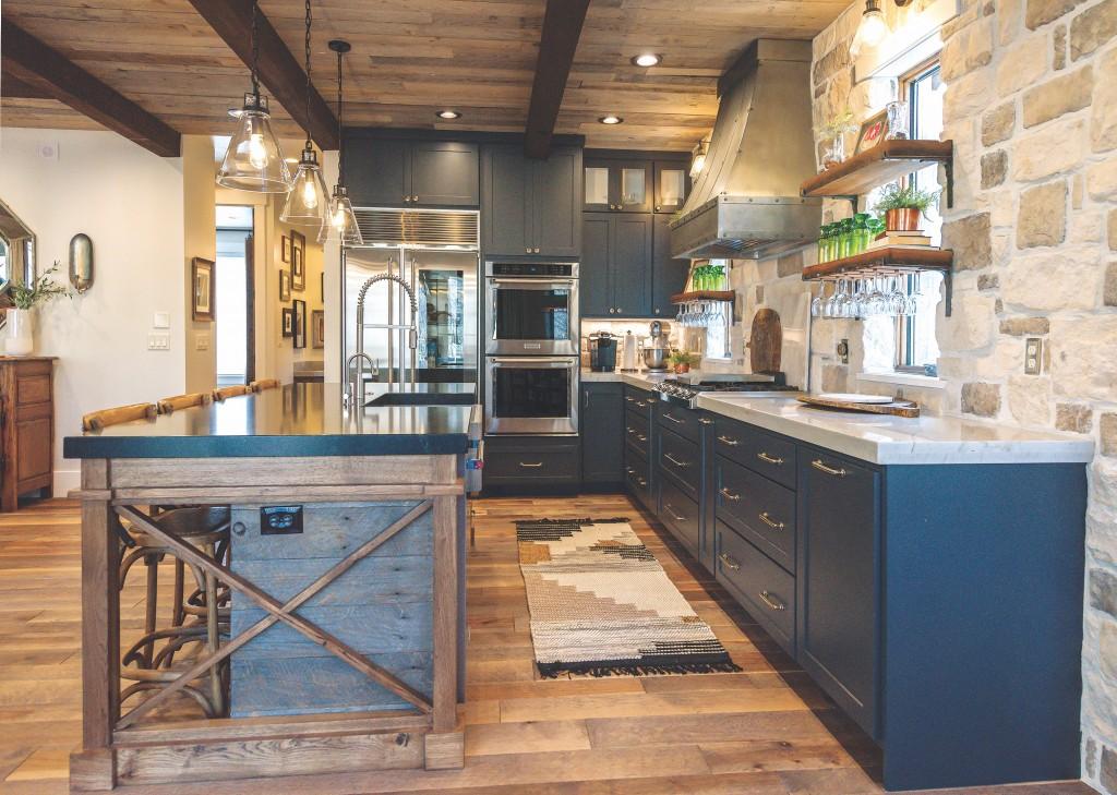 Kitchen Nilson Blue
