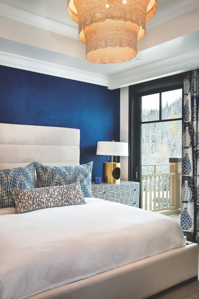 Montage Blue Bed