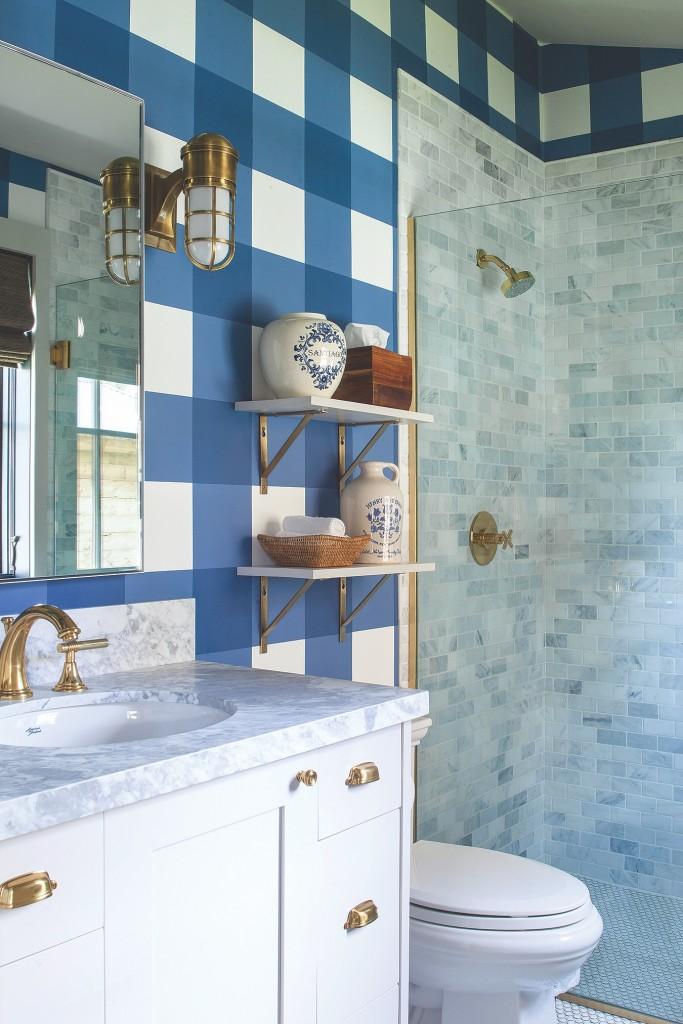 Crested Butte Plaid Bath