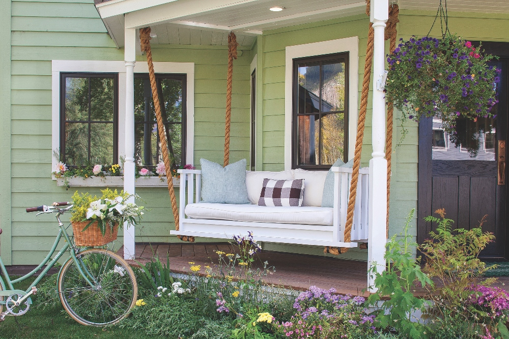Crested Butte Porch Swing