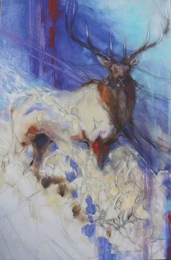 Exhibition Al Swallowtail Bull