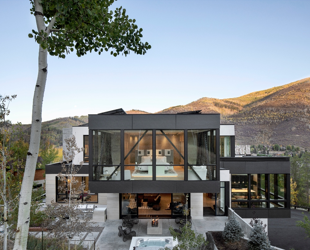 A Modern Mountain Home Inspired by Views - Mountain Living