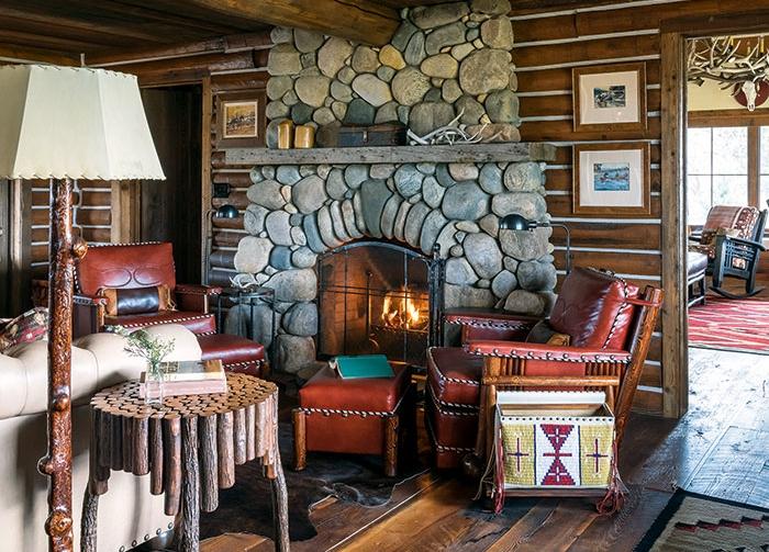 Big Horn Ranchfireplace