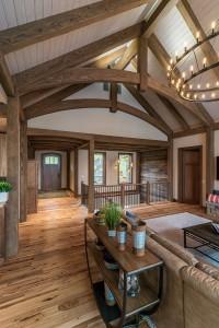 Modern Mountain Pioneer Millworks Flooring New Energy Works Timer Frame
