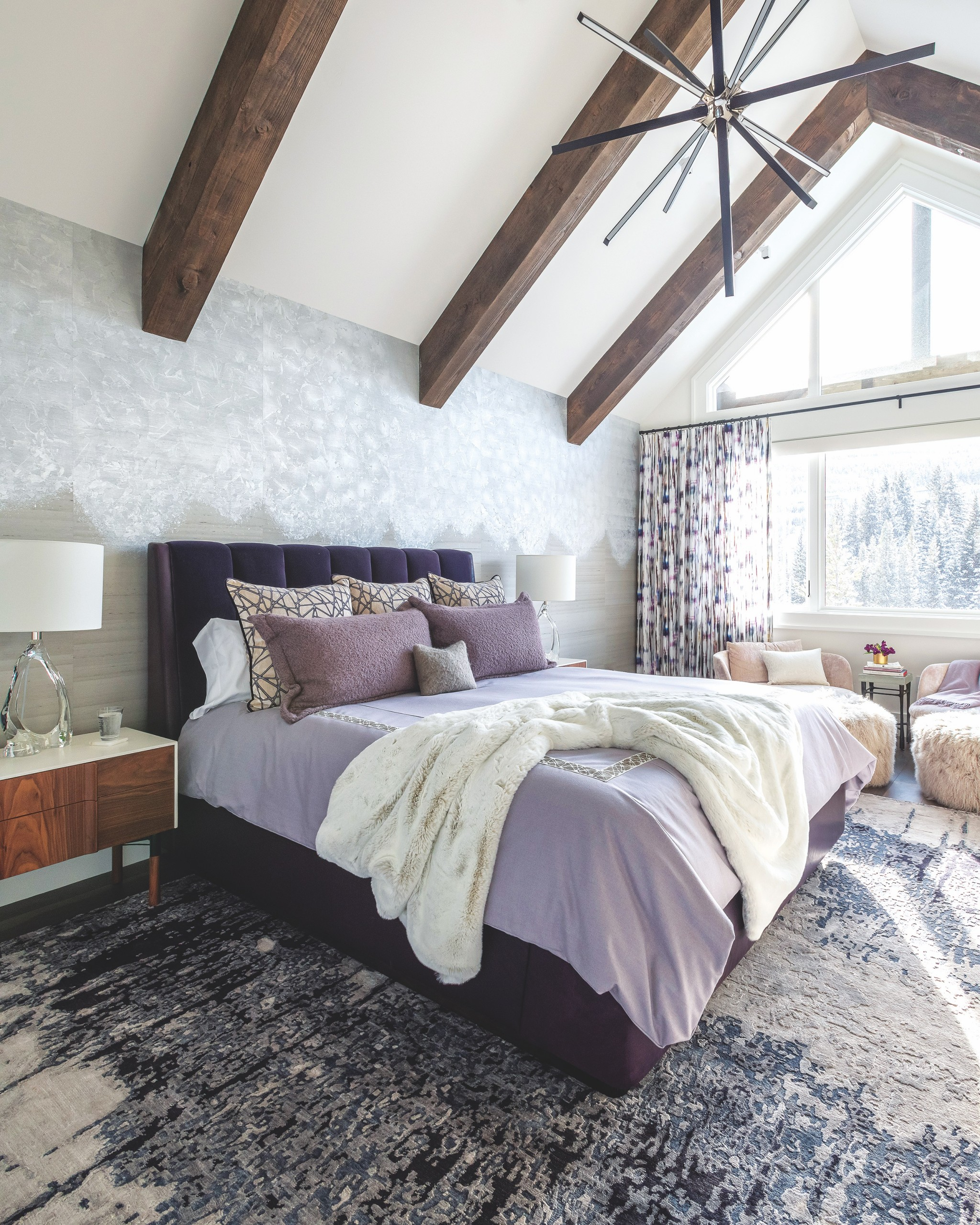 Design Purple Bed