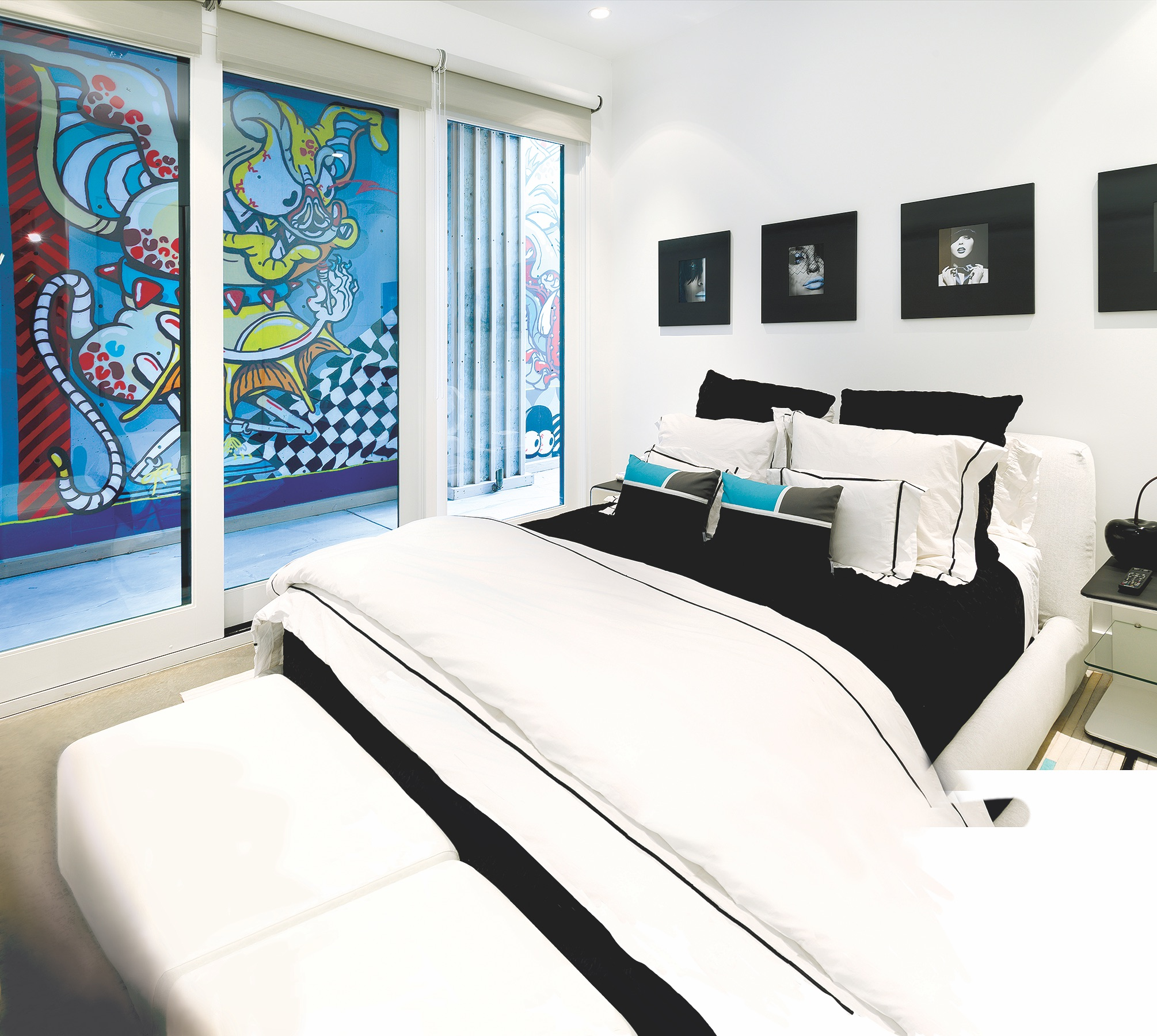Vail Blue Bed