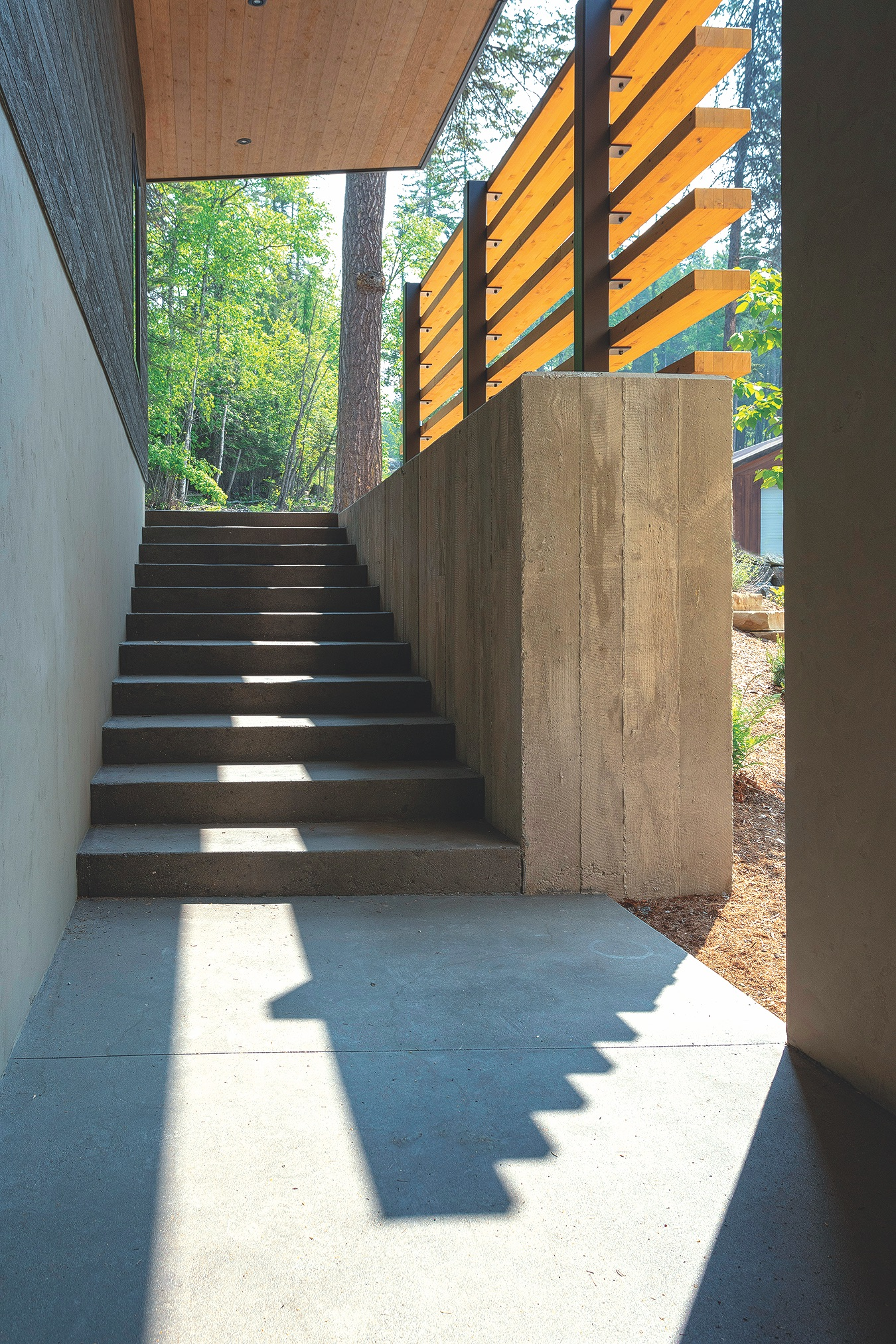 Arch Ext Stair