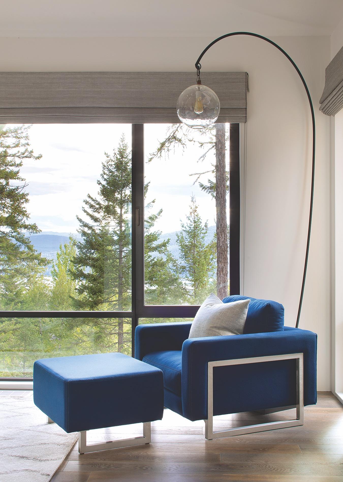 Hunter Blue Chair