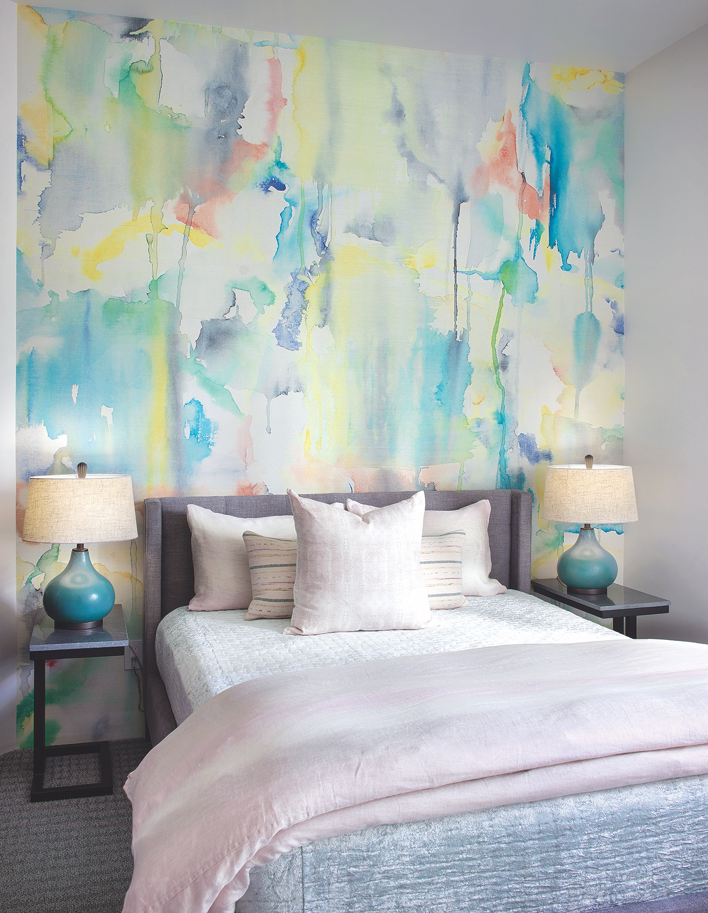 Hunter Bed Watercolor