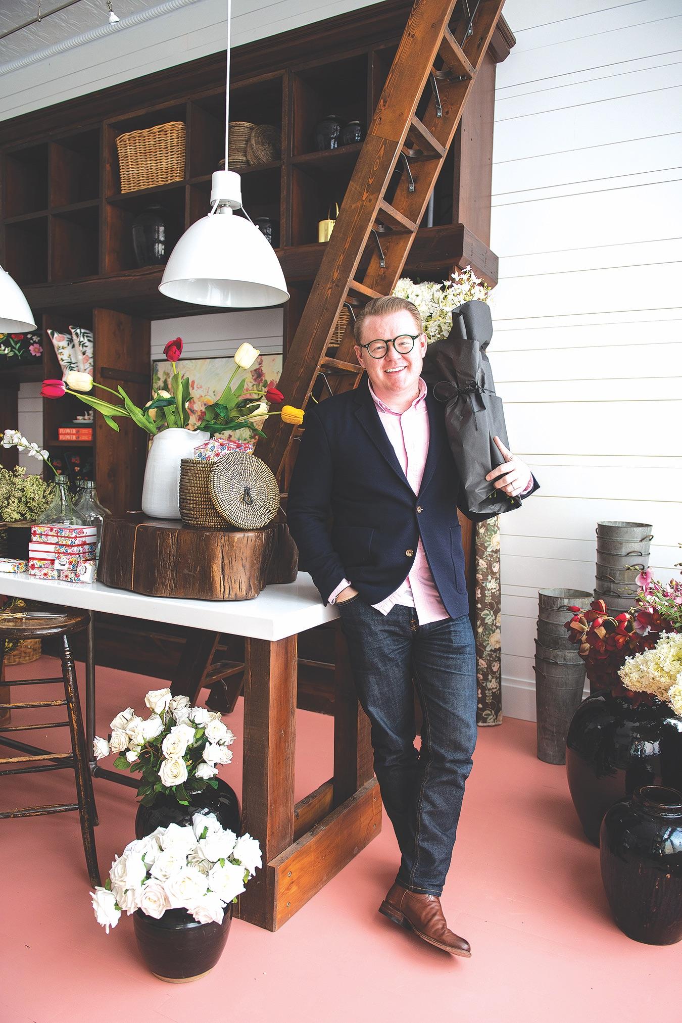Boutique J White Flowers