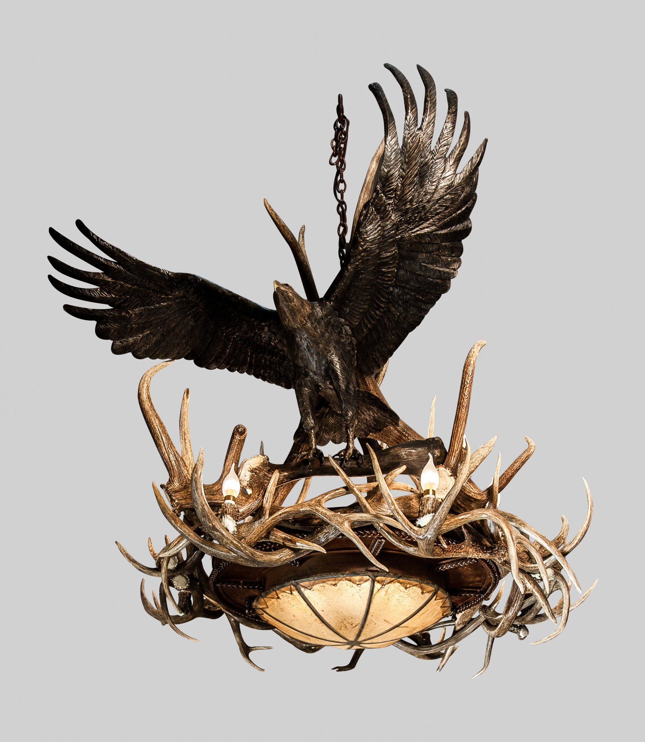 Eagle Spirit Chandelier