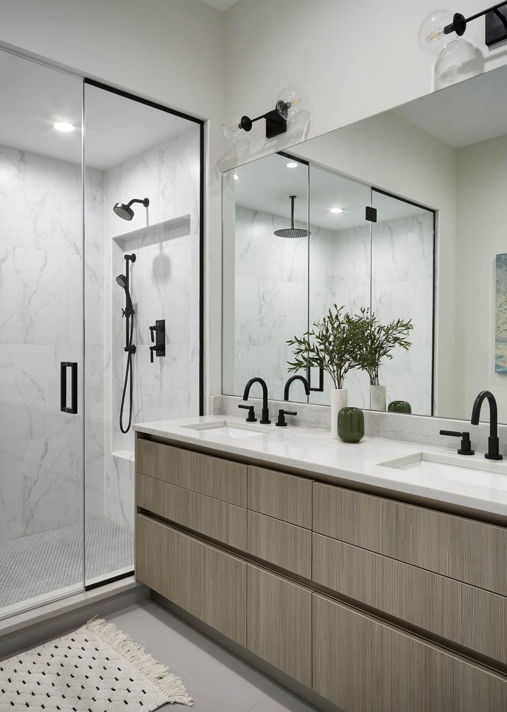 Mountain Home Interior Design Bathroom