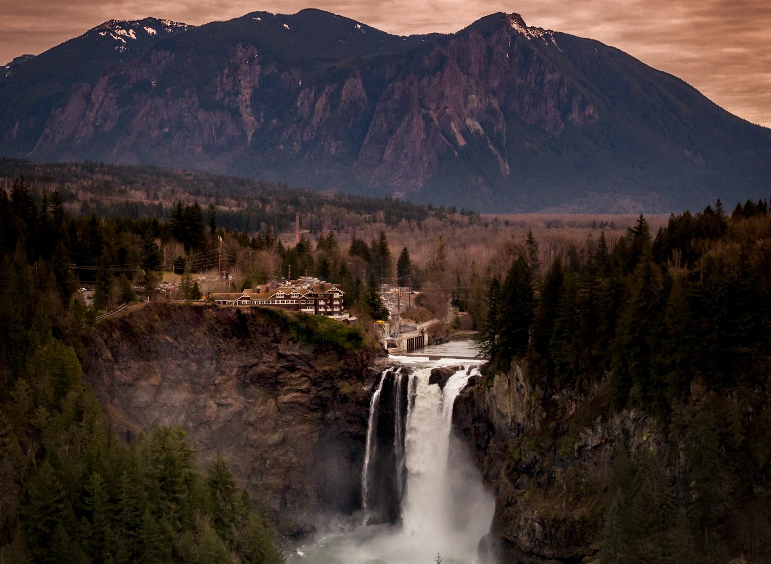 Salish Lodge And Spa Fall 1