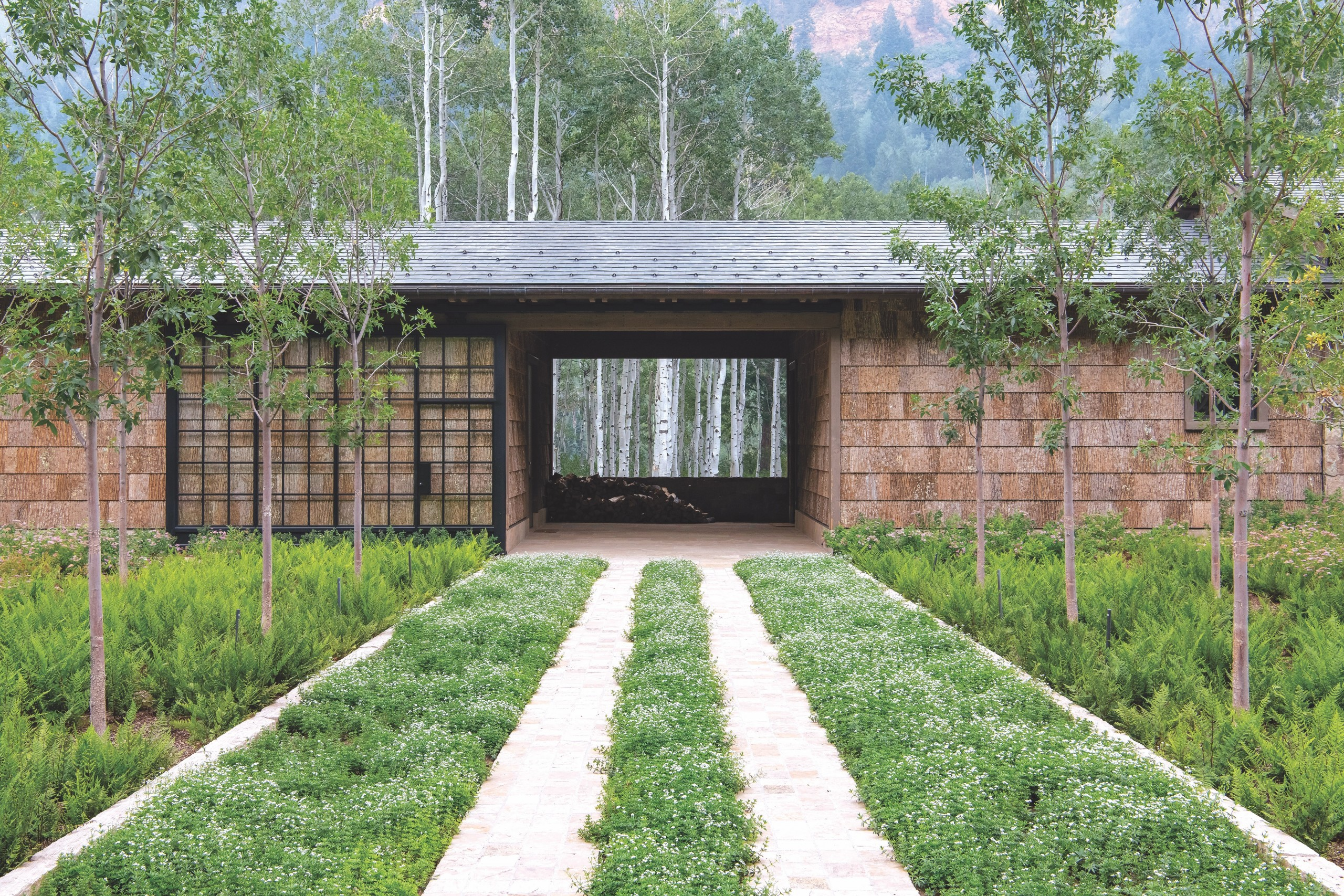 Design Workshop Aspen Driveway