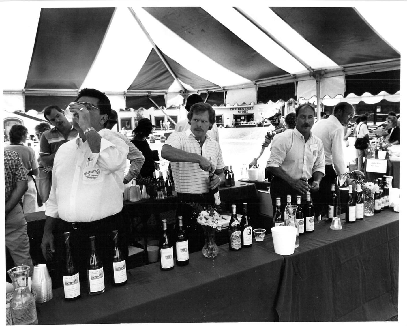 1981 Photo 7 Wine Tasting