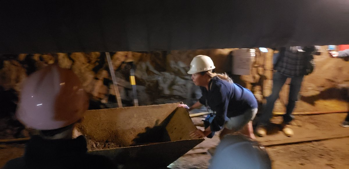 Georgetown The Heidi Guide 5 Pushing The Ore Cart At Capital Prize Gold Mine