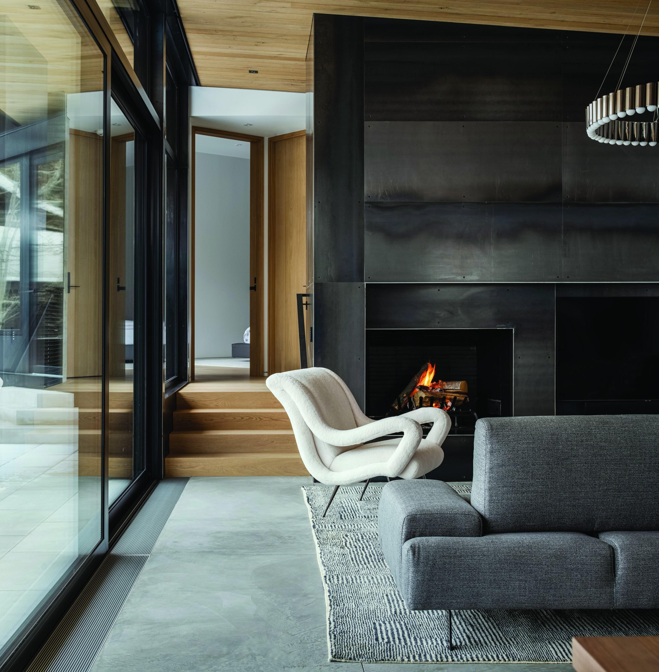 Farmer Payne Architects Avalanche Chalet Living2