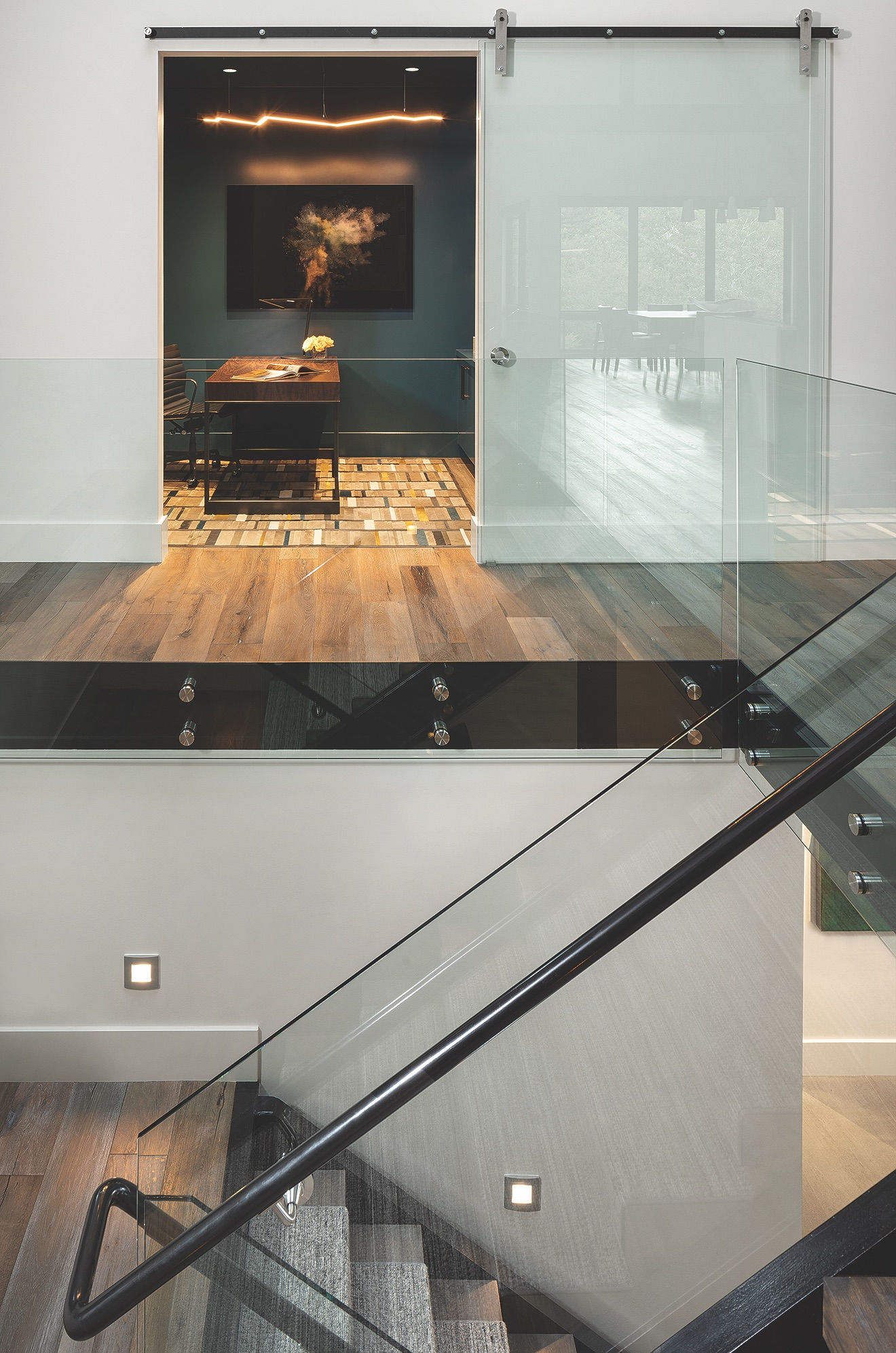 Interiors Stair Office