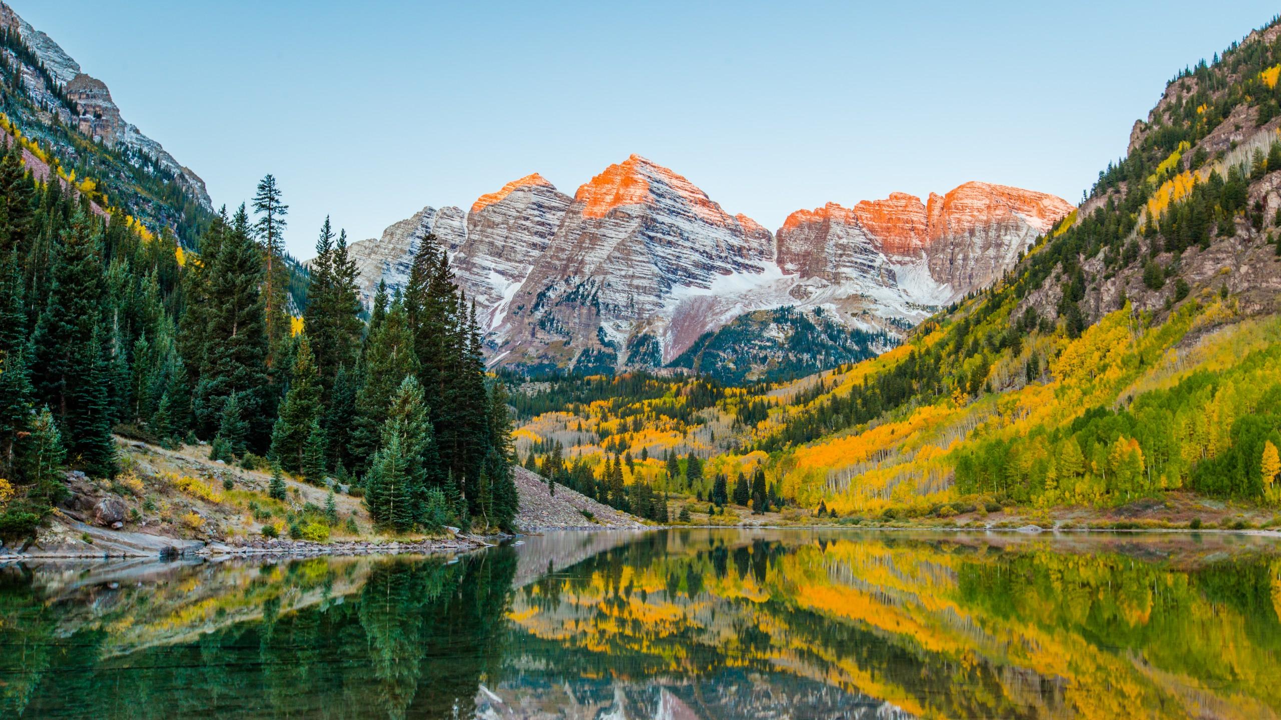 Landscape,photo,of,maroon,bell,at,colorado.,in,aspen,colorado