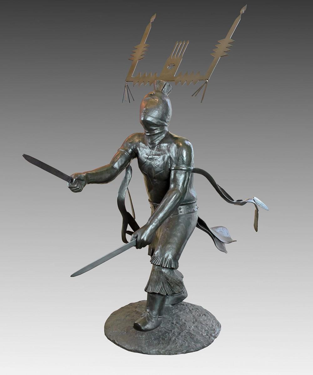 Houser Allan 1914 1994 Dance Of The Mountain Spirits I Bronze 4 68 X 50 X 26