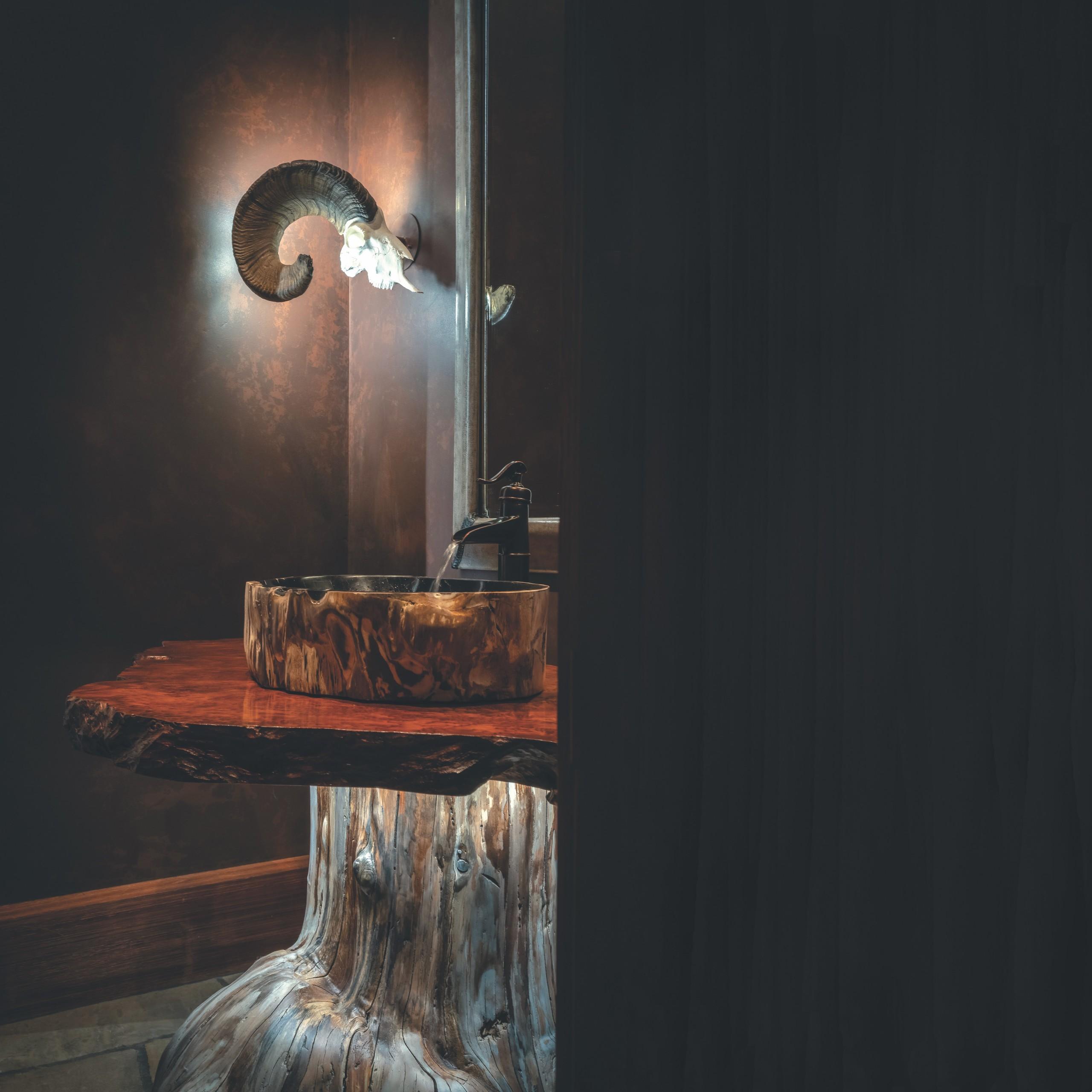 Powder Room Natural Beauty