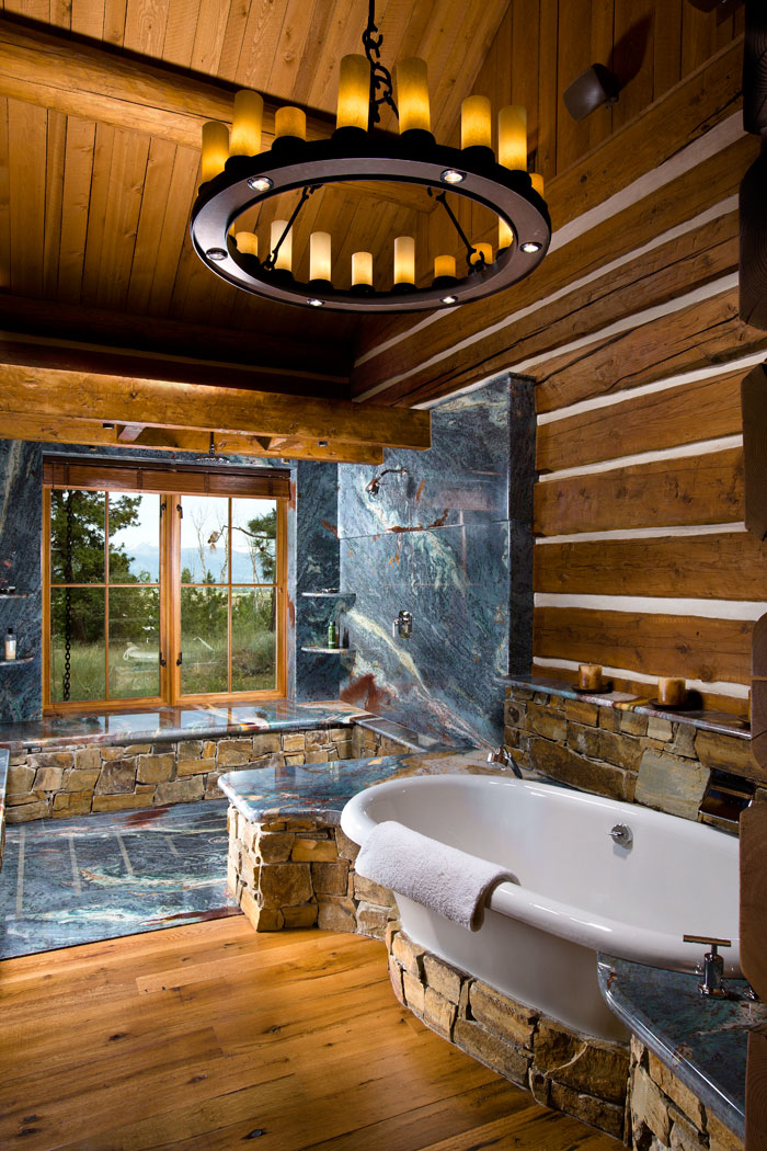 Over The Top 13 Million Montana Log Cabin For Sale Mountain Living