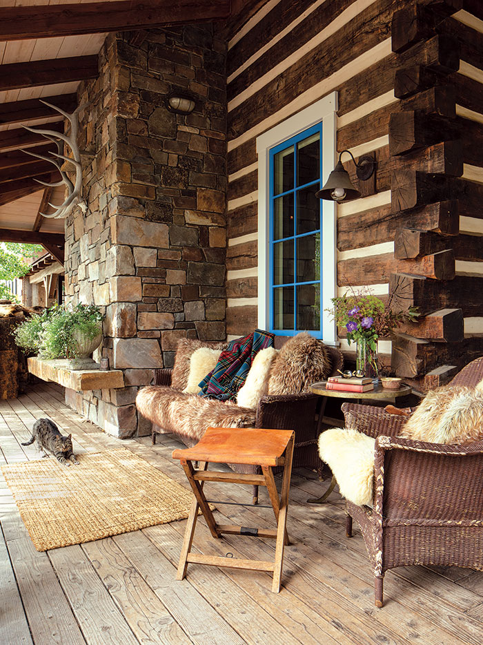 A Teton Home With Heritage Mountain Living