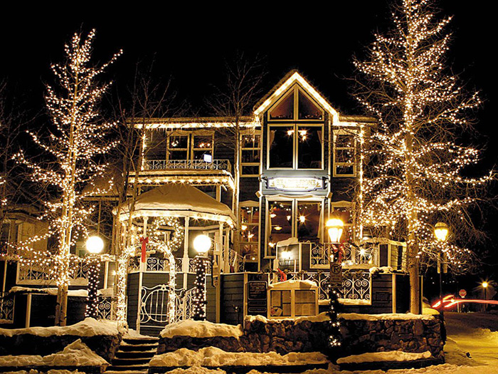 High-Country Holiday Dining - Mountain