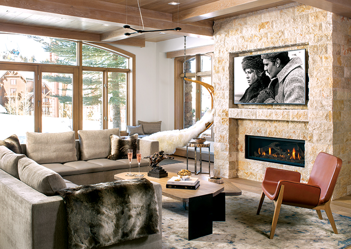 A Ski Condo In Sophisticated Neutrals Mountain Living